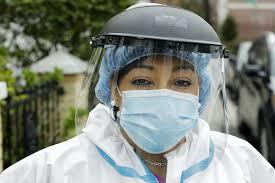 070520 coronavirus woman mask