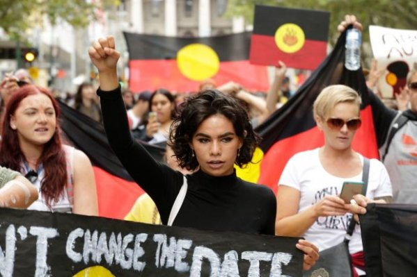 Arethabrown invasionday 2017