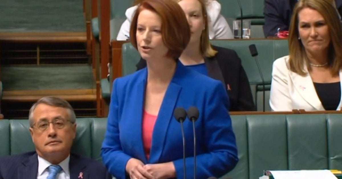 A second female prime minister? Unlikely in the House of Menpresentatives