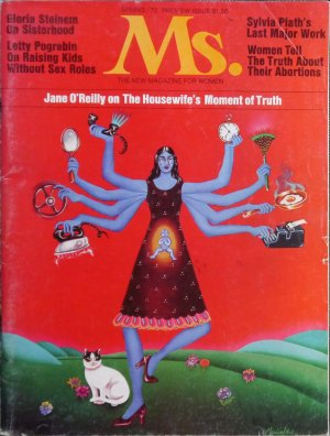 Ms. magazine Cover Spring 1972