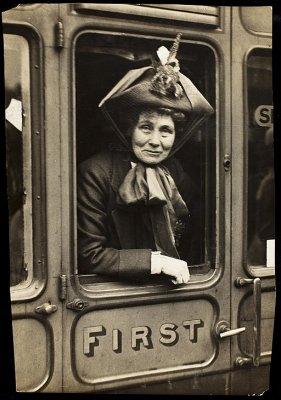 Photograph of Emmeline Pankhurstc.