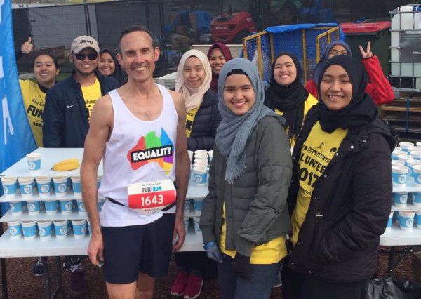 Andrew Leigh at The Canberra Times Fun Run this September