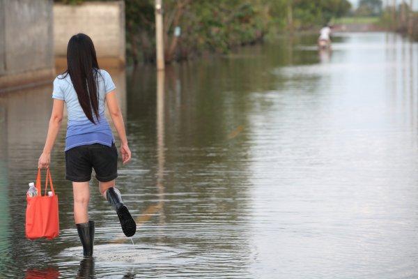 flood girl