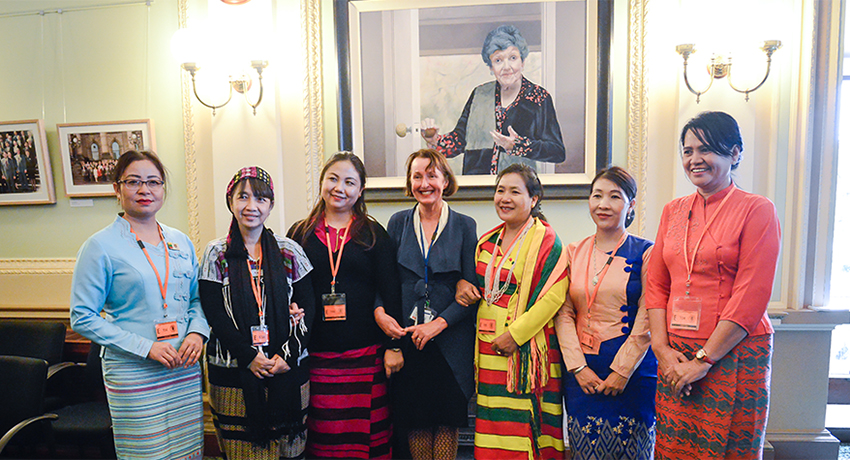 Investing in women: Mentoring Myanmar MPs