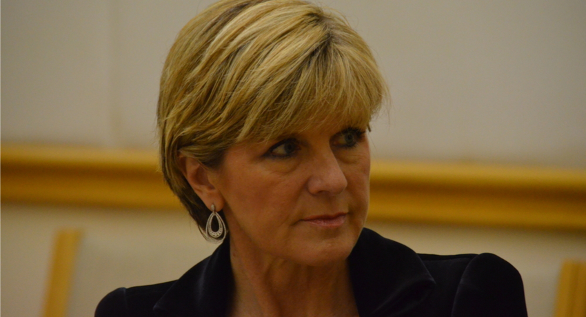 The maelstrom of the leadership spill: Julie Bishop and the glass cliff